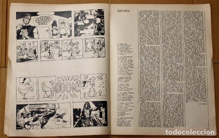Cómics: LA HISTORIETA MUNDIAL. 1ª BIENAL MUNDIAL DE LA HISTORIETA. BUENOS AIRES. AÑO 1968 - Foto 6 - 101051223
