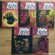 Cómics: ZARPA DE ACERO DE PLANETA COMPLETA 5 TOMOS TAPA DURA. Lote 101090667