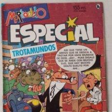 Cómics: MORTADELO ESPECIAL - TROTAMUNDOS - 1986. Lote 101138259