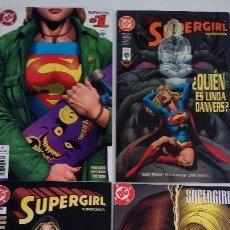 Cómics: SUPERGIRL 1,2,3 Y 4. EDITORIAL VID. POR PETER DAVID, GARY FRANK, CAM SMITH Y LEONARD KIRK. Lote 101140839
