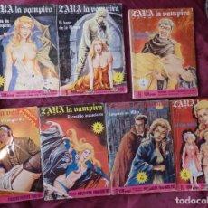Cómics: LOTE 7 COMIC ZARA LA VAMPIRA ELVIBERIA VER NUMEROS. Lote 33240205