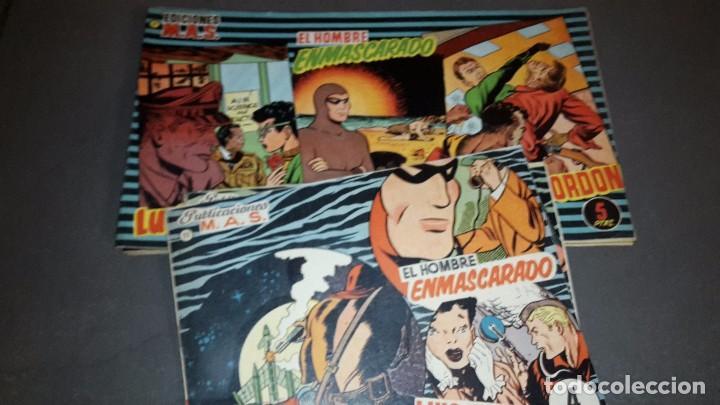 EDICIONES MAS 1 AL 10 FORMATO GRANDE, 11 AL 13 FORMATO PEQUEÑO. LUIS CICLON, H. ENMASCARADO,F.GORDON (Tebeos y Comics - Comics Colecciones y Lotes Avanzados)