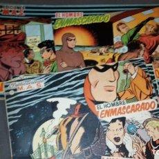 Cómics: EDICIONES MAS 1 AL 10 FORMATO GRANDE, 11 AL 13 FORMATO PEQUEÑO. LUIS CICLON, H. ENMASCARADO,F.GORDON. Lote 101264183
