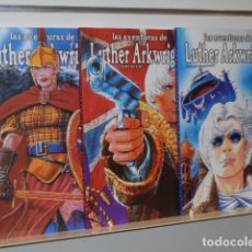 Cómics: LAS AVENTURAS DE LUTHER ARKWRIGHT COMPLETA EN TRES TOMOS Nº 1-2 Y 3 - RECERCA - OFERTA. Lote 104311322