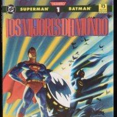 Cómics: SUPERMAN - BATMAN - LOS MEJORES DEL MUNDO Nº 1 IMPECABLE - DC - ZINCO. Lote 101369951