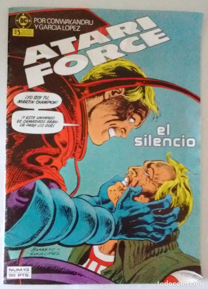 2 ATARI FORCE Nº 5-13 ZINCO DC CONWAY ANDRU BARRETO Y GARCÍA LÓPEZ NUEVO 1983 (Tebeos y Comics Pendientes de Clasificar)