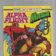 Cómics: ALPHA FLIGHT LA MASA 46. Lote 101613835