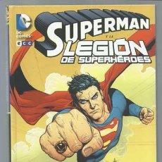 Cómics: SUPERMAN Y LA LEGION DE SUPERHÉROES, 2014, ECC, IMPECABLE. Lote 101674783