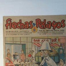 Cómics: FLECHAS Y PELAYOS N° 415 .1946. Lote 101692734