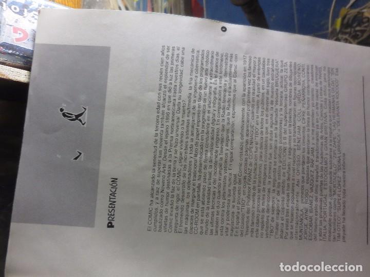 Cómics: Nº 1 ANTIGUO TEBEO EDICION PREMIADOS I JORNADAS SOBRE EL COMIC ALICANTE 1996 HOMENAJE AL COMIC - Foto 4 - 101721755