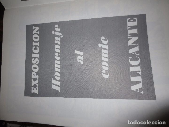 Cómics: Nº 1 ANTIGUO TEBEO EDICION PREMIADOS I JORNADAS SOBRE EL COMIC ALICANTE 1996 HOMENAJE AL COMIC - Foto 5 - 101721755