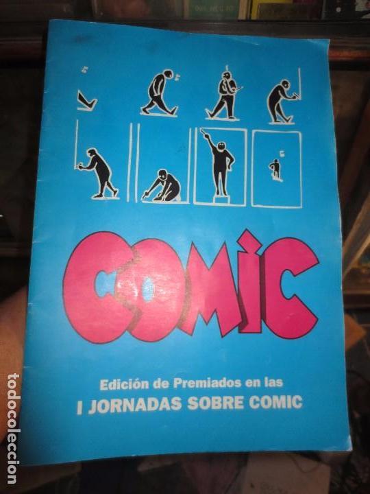 Nº 1 ANTIGUO TEBEO EDICION PREMIADOS I JORNADAS SOBRE EL COMIC ALICANTE 1996 HOMENAJE AL COMIC (Tebeos y Comics Pendientes de Clasificar)