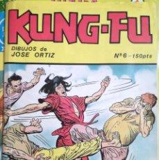 Cómics: COMIC KUNG-FU Nº 6 Y Nº 7 DE EDITORIAL IRU 1987 NUEVOS. Lote 101962455