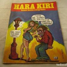 Comics : REVISTA DE HUMOR ADULTO HARA KIRI NÚMERO 9. AÑOS 80. Lote 101975095