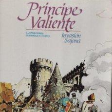 Cómics: EL PRINCIPE VALIENTE HAROLD FOSTER - INVASION SAJONA - TOMO TAPA DURA Nº3 - BURULAN 1983. Lote 101986471