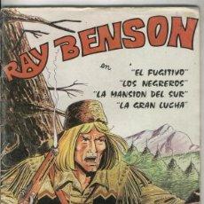 Cómics: RAY BENSON NUMERO 3 (CUBIERTA ESTROPEADA). Lote 55496031