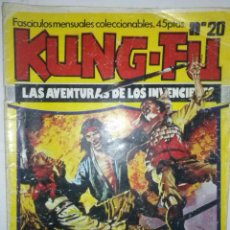 Cómics: KUNG-FU- LAS AVENTURAS DE LOS INVECIBLES-Nº 20 -JORDI BERNET-LUIS BERMEJO-AMADOR-1977-RARO-LEAN-7303. Lote 102635751