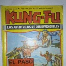 Cómics: KUNG-FU-LAS AVENTURAS DE LOS INVECIBLES-Nº 26 - JORDI BERNET-LUIS BERMEJO-AMADOR-1979-RARO-LEAN-7304. Lote 102640203