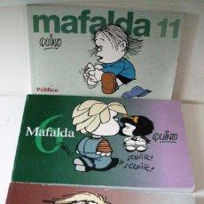 Cómics: QUINO - MAFALDA 3 ENTREGAS. Lote 102641951