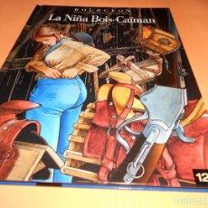 Cómics: LA NIÑA BOIS CAIMAN 1. LOS PASAJEROS DEL VIENTO. BOURGEON. IMPECABLE.. Lote 102736039