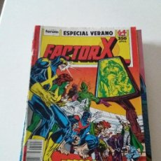 Cómics: COMIC FACTOR X ESPECIAL VERANO FORUM 64 PAGINAS. Lote 102763807