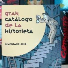 Cómics: GRAN CATALOGO DE LA HISTORIETA INVENTARIO 2012 (ACT - ASOCIACION CULTURAL TEBEOSFERA). Lote 103047855