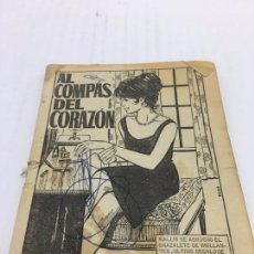 Cómics: AL COMPAS DEL CORAZON, GUION: M.OTS EDITORIAL BRIGUERA S.A. -1965. Lote 103081415