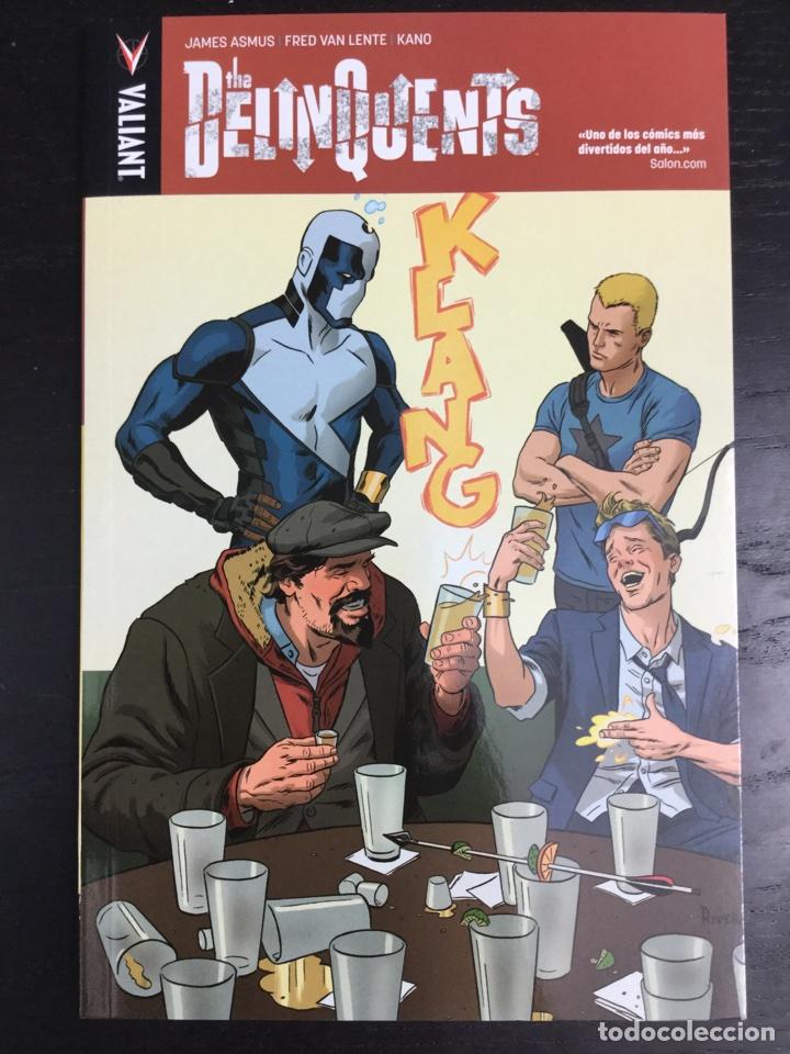 THE DELINQUENTS - JAMES ASMUS - FRED VAN LENTE - KANO - VALIANT / MEDUSA - REBAJADO (Tebeos y Comics - Comics otras Editoriales Actuales)