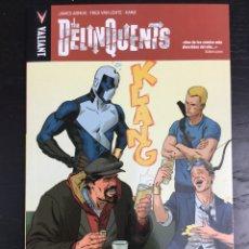 Cómics: THE DELINQUENTS - JAMES ASMUS - FRED VAN LENTE - KANO - VALIANT / MEDUSA - REBAJADO. Lote 194558928