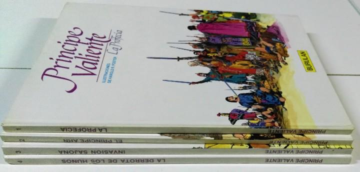 Cómics: Principe Valiente. Harold R. Foster. Buru Lan, 4 primeros tomos. 1983 - Foto 3 - 103208971