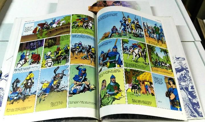 Cómics: Principe Valiente. Harold R. Foster. Buru Lan, 4 primeros tomos. 1983 - Foto 5 - 103208971