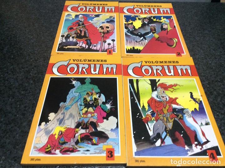 CORUM - COLECCION COMPLETA EN 4 TOMOS RECOPILATORIOS - ADAPTACION DE LA NOVELA DE MICHAEL MOORCOCK (Tebeos y Comics - Comics Colecciones y Lotes Avanzados)