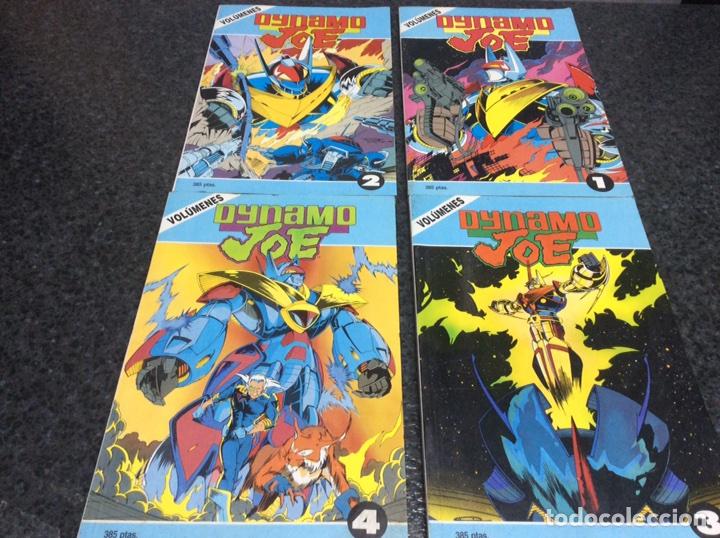 DYNAMO JOE - COLECCIÓN COMPLETA EN 4 TOMOS RECOPILATORIOS ( 16 NÚMEROS ) EDITA: FIRST, (Tebeos y Comics - Comics Colecciones y Lotes Avanzados)