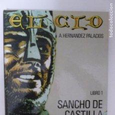 Cómics: EL CID. 4 VOLUMENES. COMPLETA. A. HERNANDEZ PALACIOS. IKUSAGAER. 1982. Lote 103328207