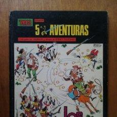 Cómics: LOS GUERRILLEROS, 5 AVENTURAS, TRINCA, EDITORIAL DONCEL, 1970. Lote 103333299
