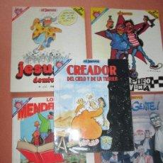 Cómics: LOTE 5 COMICS-PENDONES DEL HUMOR-DIFERENTES-ANTIGUOS-BUEN ESTADO-VER FOTOS. Lote 103497575