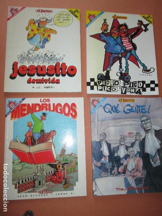 Cómics: lote 5 comics-pendones del humor-diferentes-antiguos-buen estado-ver fotos - Foto 3 - 103497575
