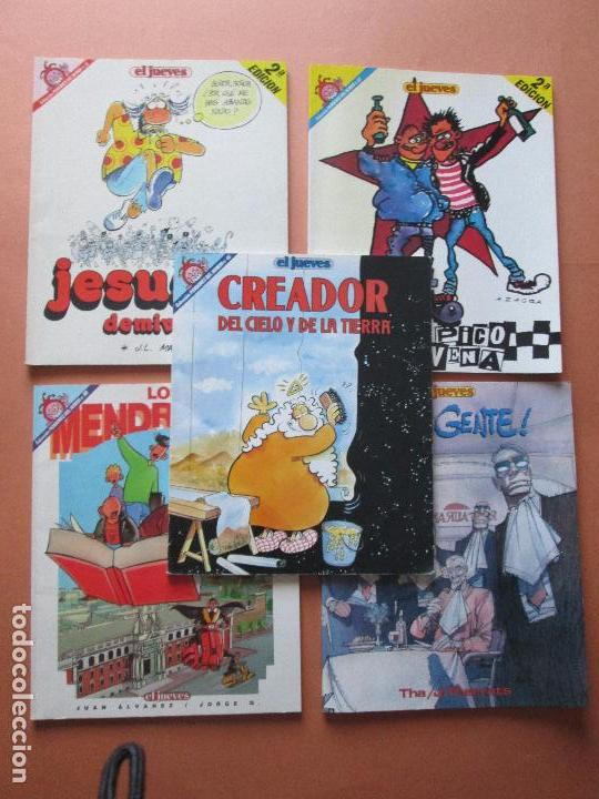 Cómics: lote 5 comics-pendones del humor-diferentes-antiguos-buen estado-ver fotos - Foto 4 - 103497575