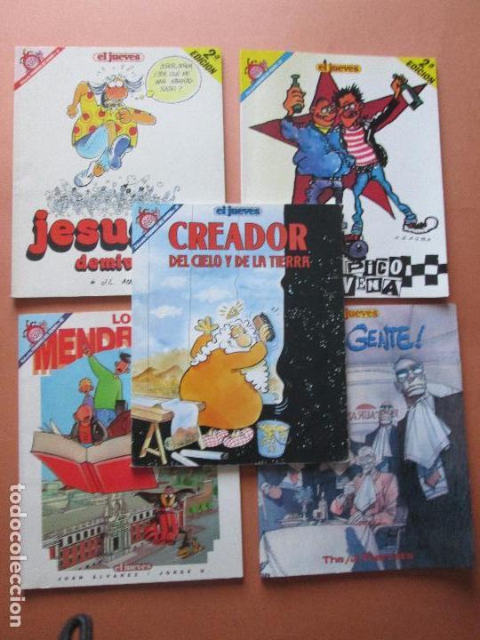 Cómics: lote 5 comics-pendones del humor-diferentes-antiguos-buen estado-ver fotos - Foto 5 - 103497575