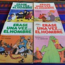 Cómics: ÉRASE UNA VEZ... EL HOMBRE NºS 1 AL 20 Y 22 AL 25 CON PÓSTERS Y JUEGOS. GELM 1978 S.A. BE Y RAROS.. Lote 80177633