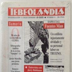 Cómics: TEBEOLANDIA NÚMERO 0 ESPECIAL FUENTES MAN JERRY ROBINSON. Lote 103770543