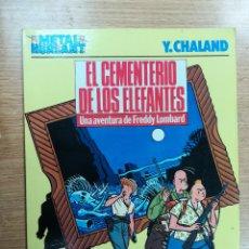 Cómics: EL CEMENTERIO DE ELEFANTES UNA AVENTURA DE FREDDY LOMBARD (COLECCION METAL #22 #25 METAL HURLANT). Lote 103785243