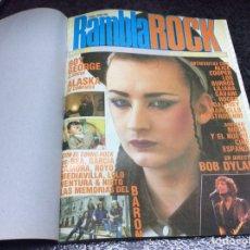 Cómics: TOMO ESPECIAL RAMBLA - CONTIENE : RAMBLA ROCK + QUINCENAL Nº 1 + RAMPA Nº 03. Lote 103816731