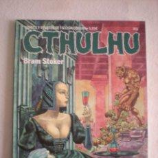 Cómics: CTHULHU # 11 (DIABOLO EDICIONES) ESPECIAL BRAM STOKER. Lote 103856415