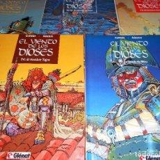 Cómics: EL VIENTO DE LOS DIOSES. KOTHIAS & ADAMOV. COMPLETA. 5 VOLUMENES IMPECABLES. TAPA DURA. GLENAT.. Lote 114359018