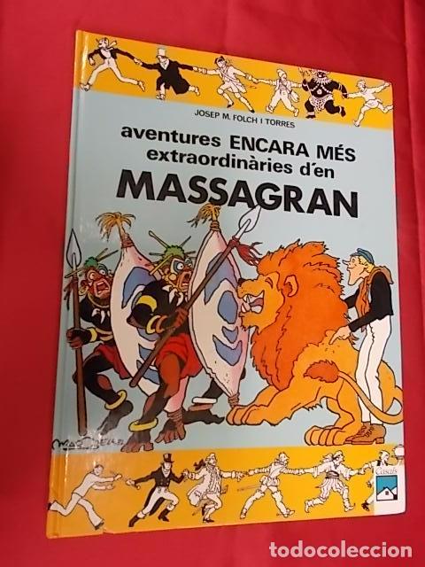 AVENTURES ENCARA MES EXTRAORDINARIES DEN MASSAGRAN . CASALS. EN CATALÀ (Tebeos y Comics Pendientes de Clasificar)