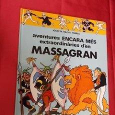 Cómics: AVENTURES ENCARA MES EXTRAORDINARIES DEN MASSAGRAN . CASALS. EN CATALÀ. Lote 104100891