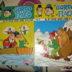 Cómics: EL GORDO Y EL FLACO COMICS NUMERO 2 Y 3 EDITORIAL NEW COMIC. Lote 104316119