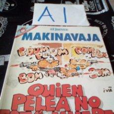 Cómics: MAKINAVAJA 111 EL JUEVES. Lote 104347922