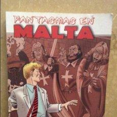 Cómics: FANTASMAS EN MALTA (MARTIN MYSTERE. INVESTIGADOR DE LO IMPOSIBLE). Lote 104441119